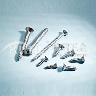 KR011-GB846 不锈钢沉头自攻螺钉 纤维板定