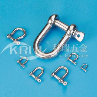 不锈钢索具--D型卸扣系列