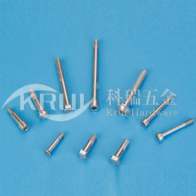 非标定制--不锈钢粗杆半牙螺栓