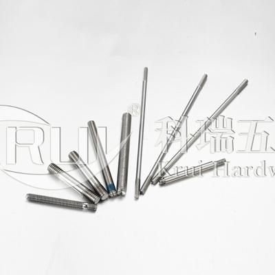 KR017不銹鋼雙頭螺柱 牙棒 全螺紋螺桿